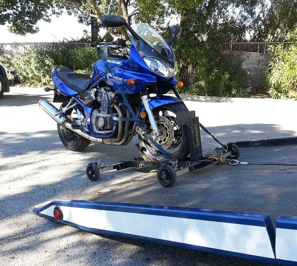 Motorcycle towing Housotn